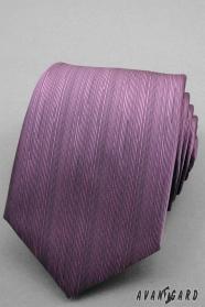 Fein schattierte lila Krawatte