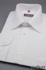 Herren Hemd  langarm  Weiß
