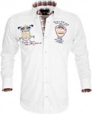 Sporthemd Pontto Weiß
