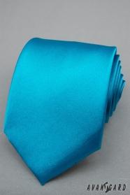 Dunkele türkise Krawatte für Männer