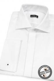 Herren Hemd SLIM für MK weiche Baumwolle  Weiß