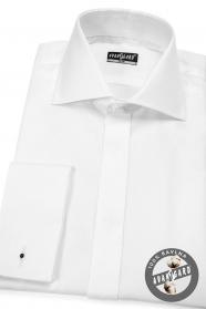Herren Hemd SLIM verdeckte Knopfleiste 100% Baumwolle