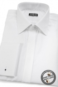 Herren Hemd SLIM aus 100% Baumwolle  Weiß