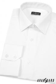 Herren Hemd SLIM  Weiß und einfach