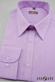 Herren Hemd SLIM mit langen Ärmeln  Violett
