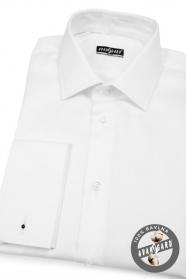 Herren Hemd SLIM weiß aus Baumwolle