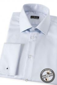 Herren Hemd SLIM MK aus Baumwolle  Hellblau