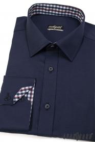 Herrenhemd SLIM dunkelblau