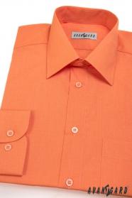 Klassisches Herren Hemd orange