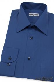 Herren Hemd königsblau
