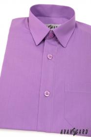 Jungen Hemd lila