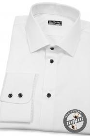 Wießes klasisches Hemd 100% Baumwolle