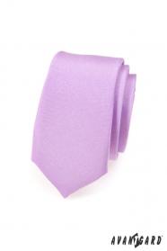 Helllila, schmale Krawatte
