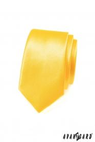 Krawatte SLIM expressive gelb