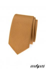 Schmale beige Avantgard Krawatte