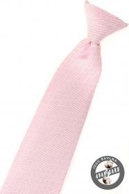 Jungen Kinder Krawatte rosa strukturiert