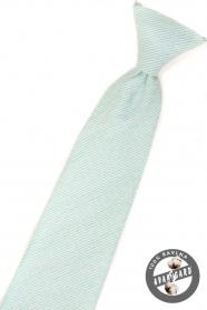 Jungen Kinder Krawatte Minze strukturiert