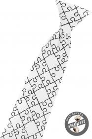 Weiße Junge Krawatte, Puzzlespiel