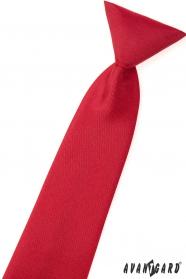 Matt Rote krawatte