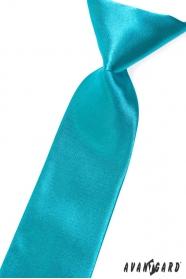 Jungen Kinder Krawatte dunkeltürkis
