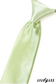 Lindgrüne junge Krawatte