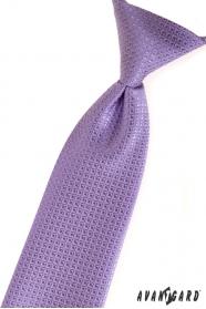 Jungen Kinder Krawatte lila strukturiert