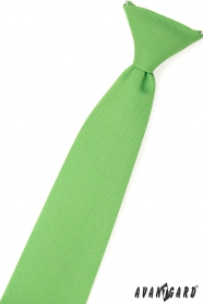 Jungenkrawatte grasgrün