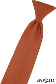 Braune Jungen Krawatte