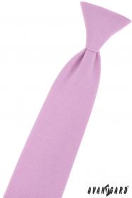 Jungen Krawatte in Flieder