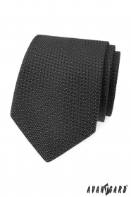 Grau strukturierte Avantgard Krawatte