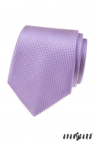 Herren Krawatte Flieder