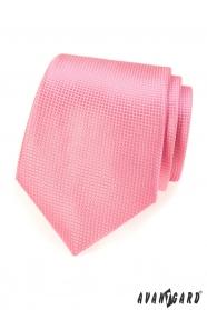 Rosafarbene Krawatte für Männer