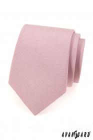 Krawatte puder rosa mattiert