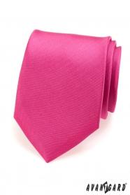 Ausdrucksvolle fuchsia-gefärbte Herren Krawatte matt