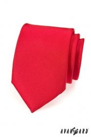 Krawatte rot matt