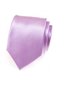 Helle Krawatte in Lila Farbton