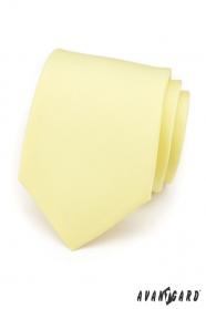 Krawatte sanft gelb matte Farben
