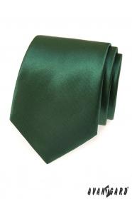 Dunkelgrüne Herren Krawatte