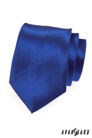 Herren Krawatte expressiv königsblau