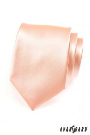 Klassische Herren Krawatte Lachs