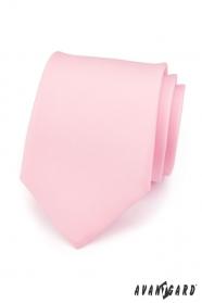 Krawatte für Männer pink matt