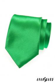 Expressive grüne Herrenkrawatte