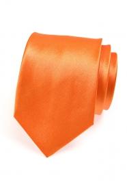 Orange Herren Krawatte
