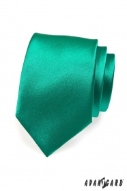 Krawatte für Männer dunkelgrün