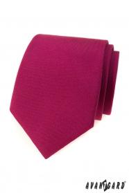 Herren Krawatte in matt burgunderfarben