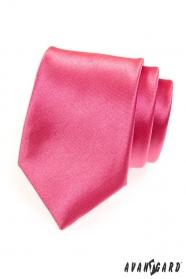 Herren Krawatte tiefrosa