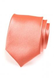 Klasische Krawatte Korallen Schatten
