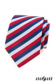 Herren Krawatte Tricolore Lux
