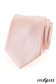 Lachsfarbene Krawatte für Herren