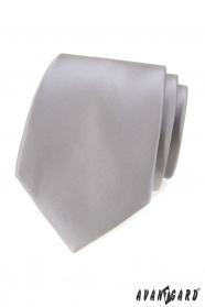 Graue klassische Herren Krawatte